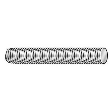 Threaded Rod, Carbon Steel, M12-1.75x1m
