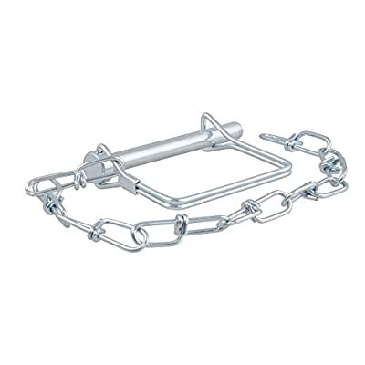 CURT 25035 Trailer Coupler Pin with 12-Inch Chain 5/16-Inch Diameter x 3-Inch Long: Automotive