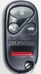 Keyless Entry Remote Fob Clicker for 2001 Honda Accord With Do-It-Yourself Programming (2002 Honda Lx)