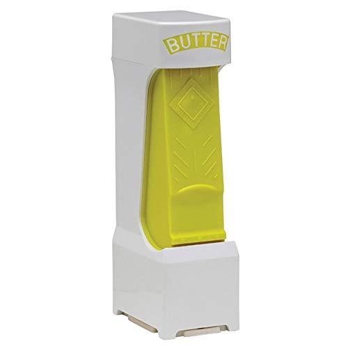 (Butter Cutter One Click Stick One Click Stick Butter Cutter (Yellow))