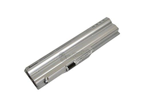 UBatteries Laptop Battery Sony VAIO VGP-BPS20/S VGP-BPS20B VGP-BPL20 - 10.8V, 5200mAh, Samsung 2.6A Cells - UBMax Series (Silver)