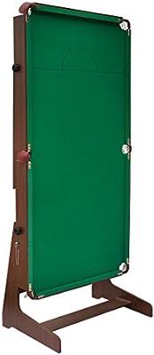 JH - Mesa de billar plegable profesional con bolas de billar, 1,82 m – con tapete verde: Amazon.es: Deportes y aire libre
