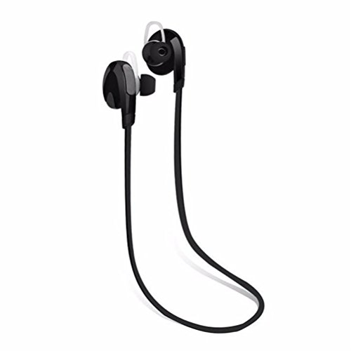 Elaco Bluetooth Wireless Handfree Headset Stereo Headphone Earphone Sport Universal(Black) (Corded Iphone4 Mic And Earbud compare prices)