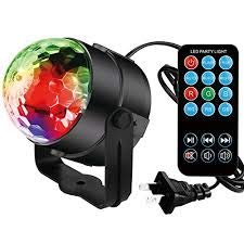 Disco Lights,ZoiyTop Disco Ball Lights Dj Light LED Stage Light 7 Colors Sound Activated Strobe Light for Home Children Birthday Toys Gift,Club,Wedding,Karaoke Celebration