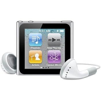 Apple iPod nano 16 GB Silver (6th Generation) Discontinued Model (in White Box)
