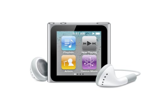 Apple iPod nano 16 GB Silver (6th Generation) Discontinued M