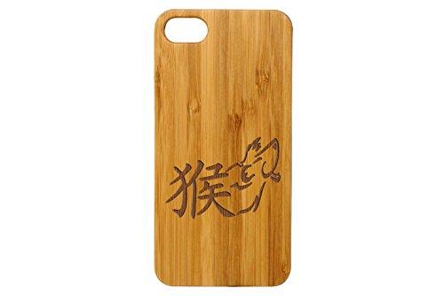 for Apple iPhone 7 & 8 Bamboo Wood Phone Case NDZ Chinese Zodiac Monkey