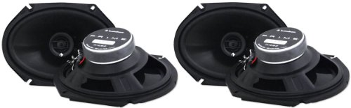 2 Pairs Rockford Fosgate R1682 6x8 400w 2 Way Full-Range Car Speakers