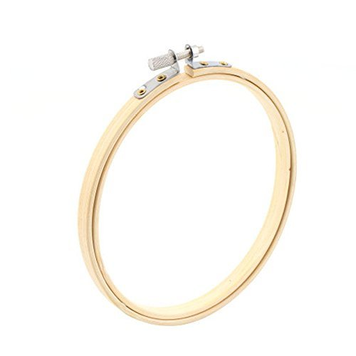 Windspeed Wood Embroidery Hoop/ Bamboo Circle Cross Stitch Hoop Frame Ring with Round Edges (13cm) ()