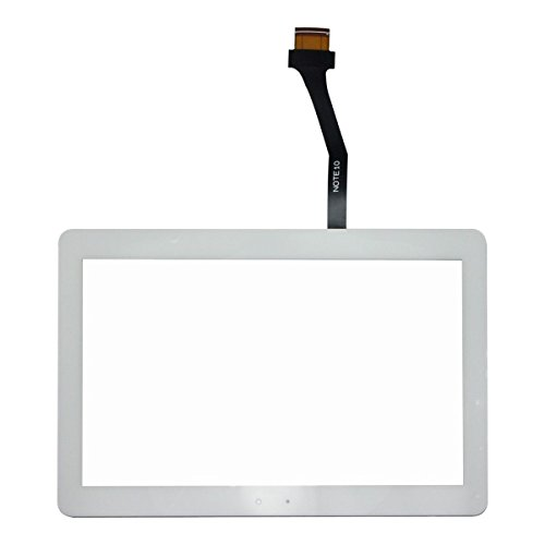 Generic White Touch Screen Digitizer Touch Display Outer Front Glass Lens Replacement for Samsung Galaxy P5113 Tab 2 10.1 GT-P5113TS GT-P5113 P5113 P5113TS Ship from US (Open Frame Lcd Display Panel)