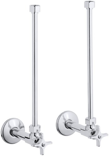 - KOHLER K-7606-P-CP Angle Supply, Polished Chrome