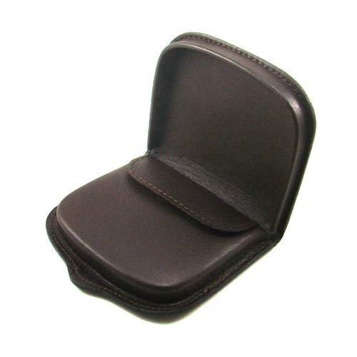 Ledergeldb/örse Rindsleder Ref 10017 Braun Unisex Marke Casanova runde Ferse Handgefertigt