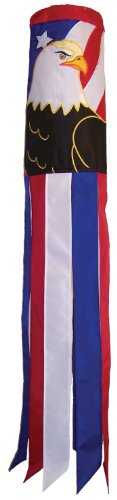 Windsock Eagle (In the Breeze Patriot Eagle Windsock, 40-Inch)
