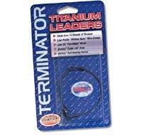 Terminator Braided Titanium Leader (30-Pounds, 6-Inch) ()