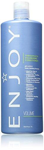 Enjoy Therapeutic Volumizing Conditioner, 33.8 Fluid Ounce