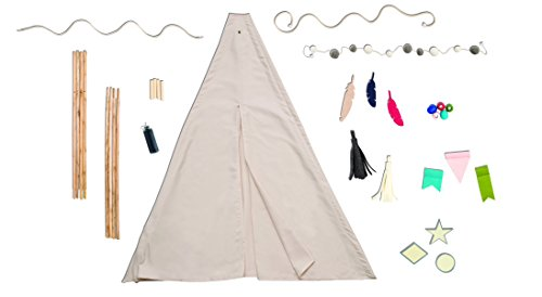 American Crafts We R Memory Keepers Teepee Kit Dark by American Crafts