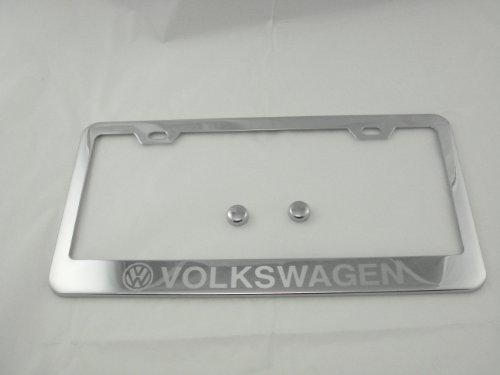 jetta chrome license plate frame - 9