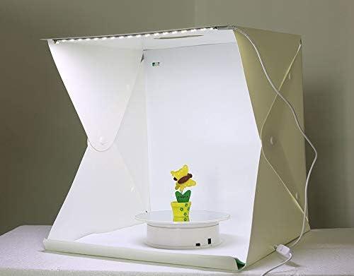 Caja de luz Plegable Lightbox para fotografía de Estudio de fotografía LED, Caja de luz, Kit de Fondo para fotografía: Amazon.es: Electrónica