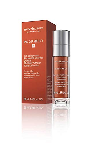 PROPHECY CREAM 2 anti-aging cream plumps and smoothes wrinkles multilayer hydration rediance booster by hava zingboim