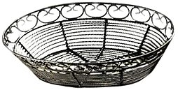 Tablecraft (BK27410) 10'' Oval Basket - Mediterranean Series