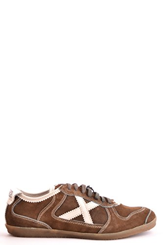 MUNICH Men's Mcbi346001o Brown Suede Sneakers