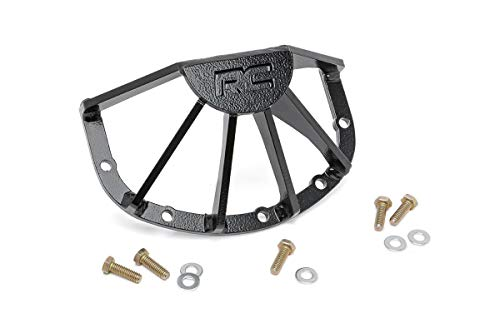 - Rough Country - 1032 - RC Armor High Pinion Front Dana 30 Differential Guard for Jeep: 84-99 Cherokee XJ 4WD, 86-92 Comanche MJ 4WD, 87-95 Wrangler YJ 4WD