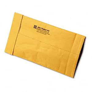 "Jiffy« Padded Mailer, Open-End, Heavy Duty, Gold Kraft, # 00, 5""x10"", 250/CT SEL49254"