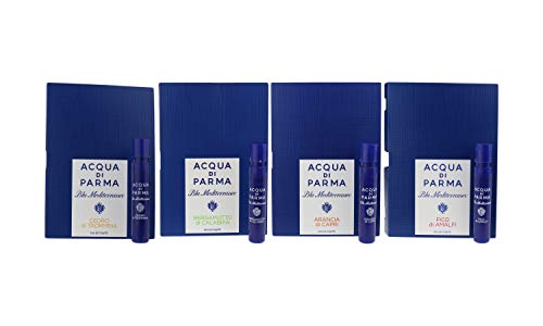 Acqua Di Parma 'Blu Mediterraneo Collection' EDT 4 X 0.05oz/1.2ml Vial On Card ()
