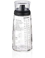 Leifheit Salad Dressing Shaker, Black/Transparent