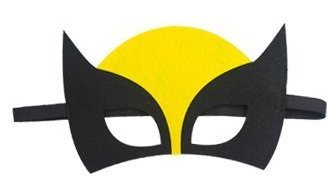 JDProvisions 12 Pieces Superheroes Party Fun Cosplay Felt Masks for Boys Girls -