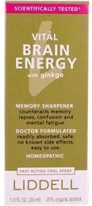 Liddell Vital Brain Energy with Ginkgo 1 oz