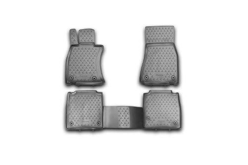 Novline 29.28.210 Lexus LS 460 L Floor Mats - Floor Liners - Four (4) Piece Set - 2013-2014 - Black - Long Wheel Base L Model Only