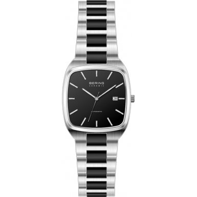 BERING Time 13538-742 Mens Automatic Collection Watch with Stainless steel Band and scratch resistant sapphire crystal. Designed in Denmark.