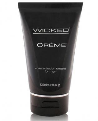 Wicked sensual care collection 4oz creme to liquid masturbation cream for men - creme (Package Of 2) by multiple