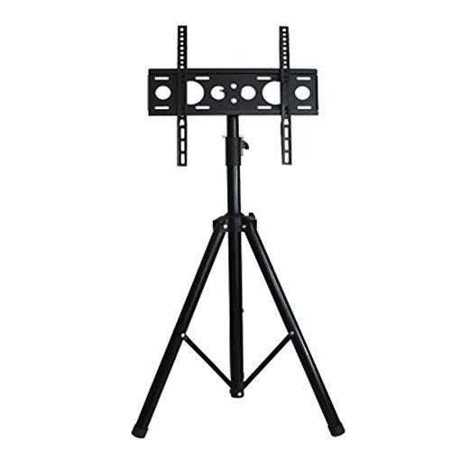 CRZJ Universal TV Stand Simple Floor Tripod, Rotate The Desktop TV Stand, Five-Speed Adjustable