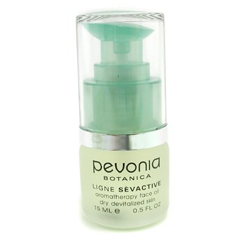 Pevonia Aromatherapy Face Oil Dry, Devitalized Skin 0.5 oz Eos Evolution of Smooth - Weightless Hydration Crystal Lip Balm Sphere Vanilla Orchid - 0.25 oz. (pack of 3)