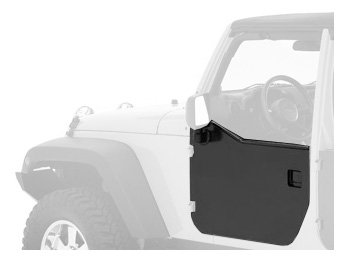 Element Jeep - Bestop 51803-01 Black HighRock 4X4 Element Front Door Enclosure Kit for Wrangler JK including Unlimited - Front doors only