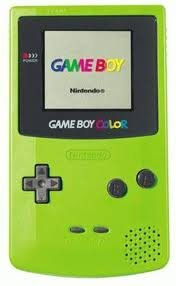 Gameboy Color Package: Includes Lime Green Gameboy Color
