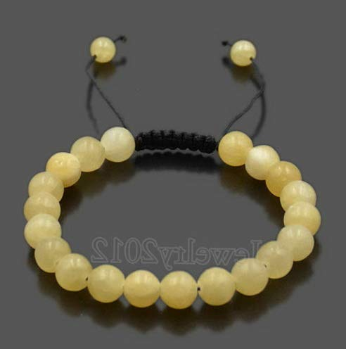 Hebel Couples Mens Womens Beads Turquoise Howlite Agate Macrame Weaving Bracelets | Model BRCLT - 32084 |