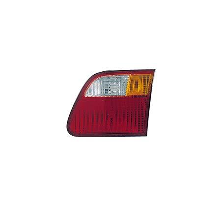 Fits 1999-2000 Honda Civic BACK-UP Lens & Housing Passenger Side Unit HO2819115 4dr For Sedan; deck lid mounted - replaces 34151-S04-A51 00 Honda Civic 4dr Tail