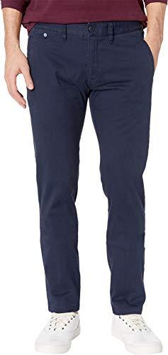 Tommy Hilfiger Men's Original Stretch Slim Fit Chino Pants, Navy Blazer, 34X32