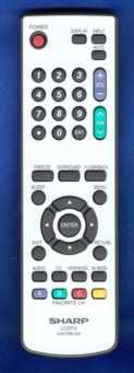 New Sharp LCD TV Remote Control GA470WJSA 076B0MQ010 Supplie