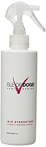 Isle of Dogs Vanity Series Isle Strengthen for Long-Coated Breeds, Styling Product for Dogs, 250ml (Dog Conditioner For Poodles)