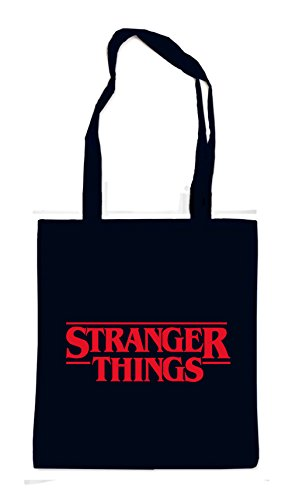 Stranger Things Bag Black Certified Freak