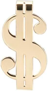Official Atlas Shrugged Brass Money Clip Gold