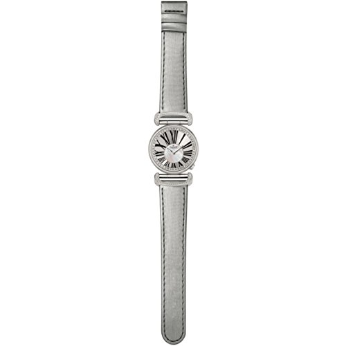 Charmex Malibu 6280 32mm Stainless Steel Case Grey Calfskin Synthetic Sapphire Women's Watch
