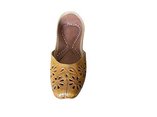 Camel Kalra Creations Damen KCW Braun Sandalen 000443 w7YqZxr7