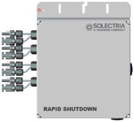 Solectria Renewables Rapid Shutdown Combiner Single Phase TL Inverters RSD-PVI-3800-7600TL