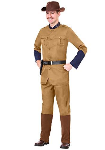 Men's Teddy Roosevelt Costume X-Large ()