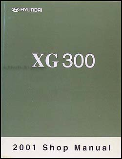 2001 hyundai xg 300 repair shop manual original hyundai amazon com rh amazon com 2001 Hyundai XG300 Rim Guard 2001 Hyundai XG300 Blue Book